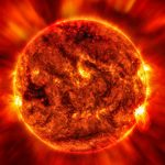 Space Weather Update: Sunspot region that produced yesterday's M-flare rotates into view