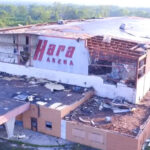 Via the ARRL: Former Dayton Hamvention Venue Hara Arena is Being Demolished